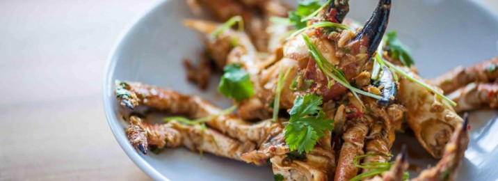 Rick Stein crab dish