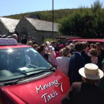 wedding car taxi helston lizard